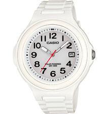 Casio Women's Solar Powered Watch, 100 Meter WR, White Resin, Date,  LXS700H-7BV
