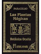 El libro de las Plantas Mágicas y Botánica Oculta,Paracelso