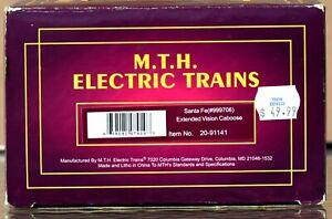 MTH Premier Rail King Santa Fe(#999706) Extended Vision Caboose,Item # 20-91141
