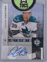 Logan Couture 2011-12 UD Ultimate Collection Signature San Jose
