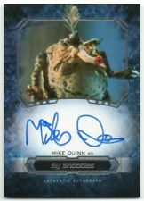2016 Star Wars Masterwork Autographs Mike Quinn Sy Snootles Auto
