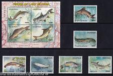 Uganda - 2005 Fish-U/M-SG 2520-2525 + MS2526