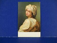 Guido Reni Beatrice Cenci Printed in Italy Vintage Color Postcard Unused PC13
