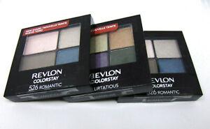REVLON COLORSTAY 16Hr Eye Shadow 0.16oz./4.8g Choose Shade