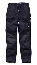 Dickies Eisenhower Multipocket Work Trousers Black Navy EH26800 Cargo Pants