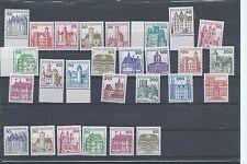 Germany stamps. 1977-1980 German Castles MNH (W288)