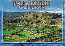 Palm Desert California, Riverside County near Palm Springs, CA Aerial - Postcard