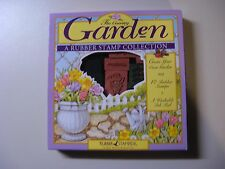 THE COUNTRY GARDEN - A RUBBER STAMP COLLECTION - NEW IN ORIGINAL SEALED PACKAGE