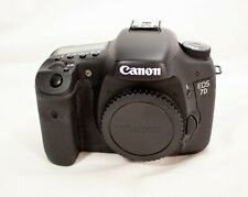 Canon EOS 7D 18.0MP Digital SLR Camera - Black (Body Only) Not Working
