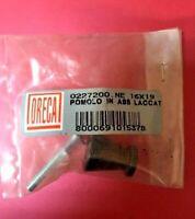 Pomello pomolo x mobili armadi cassetti misura ø 16 mm in ABS maniglia nero