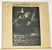 Jackie DeShannon ‎- Songs - 1971 Vinyl LP Record Album