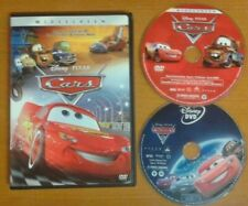 CARS 1 & 2 DVD ~ As pictured.  See details ~ Genuine Disney U.S. Excellent