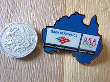Olimpiadi di Sidney 2000 Bank of America USA SPONSOR ORIGINALE METALLO PIN BADGE N. 1