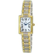 Bulova 98L157 Women's Blue Hands Mother of Pearl Dial Two Tone Watch