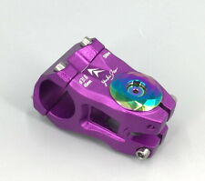 KRSEC Aluminum Stems 28.6*31.8*45mm MTB road XC Bike Short Stem & Top cap Purple