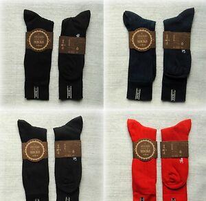 "NEW LUXURY UNISEX Striped Socks from ""Two Socks""  Medium and Large sizes"