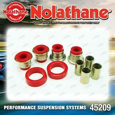 Nolathane Front Control arm lower inner bushes for Chrysler Galant GA GB GC GD