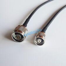 N male to RP-TNC plug straight crimp RF RG58 cable pigtail 10Feet WIFI Roadio