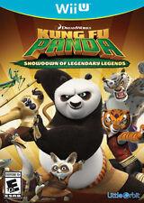 Kung Fu Panda Showdown of Legendary Legends USED SEALED (Nintendo Wii U)