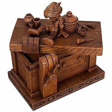 Disney Pinocchio On Geppetto's Workbench Heirloom Box Robert Olszewski New