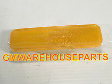 1982-1987 EL CAMINO FRONT FENDER YELLOW SIDE MARKER LIGHT LAMP NEW GM # 929986