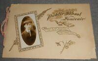 1914 Public School Souvenir Booklet MT ZION PUBLIC SCOOL - ILLINOIS Seibert Pub.