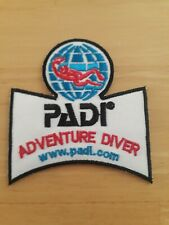 3 Inch PADI Adventure Underwater Diver Iron Or Sew On Patch Badge