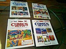Comics Revue lot 4 illustrated Graphic Novels Rare Collectibles Comic Book Hero