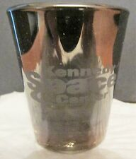 KENNEDY SPACE CENTER  MIRRORED FINISH   SHORT SHOT GLASS