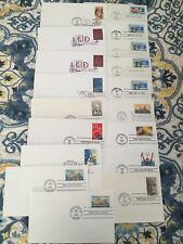 18 FDC 1998 - 2007 etc - uncacheted ready to paint
