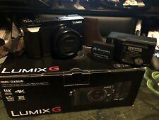 New ListingPanasonic Lumix Gx85 16 Mp Digital Camera - Black w/ 12-32mm & accessories.