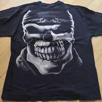 Harley Davidson Sturgis ND 2009 Bike Rally Black Men's Delta XL T-Shirt Skull