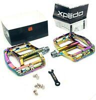 Xpedo Spry Mountain Bike Platform Pedals OIL SLICK