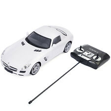1/14 Scale Licensed Mercedes Benz SLS AMG Radio Remote Control RC Car White New