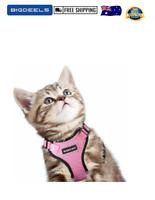 Rabbitgoo Cat Harness Adjustable Walking Vest Kitty Kittens Rabbits 2 SIZES NEW