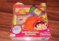 Dora the Explorer Tortilla Chips & Salsa Play Food Set -New