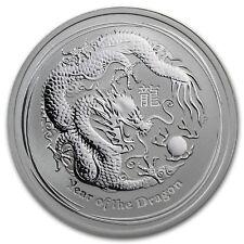 2012 Lunar Dragon 1/2 oz Silver, Series II,Original roll of 20 Coins