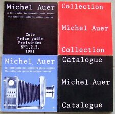 MICHEL AUER COLLECTION of CAMERAS. 3 VOLUMES + PRICE GUIDE 1981