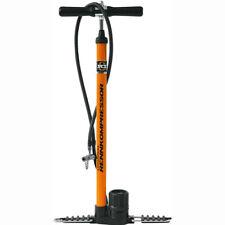 SKS Standpumpe Air Worx 10.0 orange Stahlkörper mit Manometer Fahrradpumpe