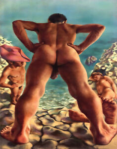 Pavel Tchelitchew Bathers Canvas Print 16 x 20 #3575