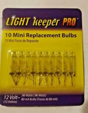 Light Keeper Pro 12 V Mini Replacement Bulbs Clear Color 10 Ct