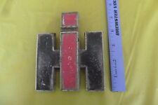 Vintage International Harvester Emblem badge grill tractor ? scout hood ornament