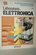 RIVISTA LABORATORIO DI ELETTRONICA NUMERO 10 1986 USATA BUONO ED ITA FR1 54770