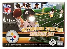 Pittsburgh Steelers NFL 64 PEZZI Oyo end zone Toy Figure Set