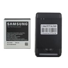 OEM EB-L1D7IBA Battery + Charger for Samsung Galaxy S2 T989 i727 L700 1850mAh