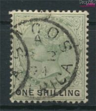 Lagos 28 fine used / cancelled 1887 Victoria (9421948