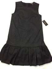 Juicy Couture Women's Sleeveless Pitch Black Dress