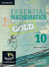Cambridge Essential Mathematics Gold Year 10