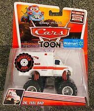 Disney Cars Toon Dr. Feel Bad Truck Pixar Mattel 2012 - Walmart Exclusive