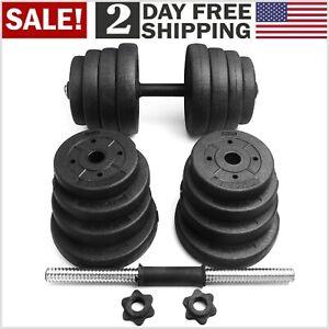 Set de Pesas Mancuernas Ajustables Entrenamiento Gym Home 66 lb ENVIO GRATIS